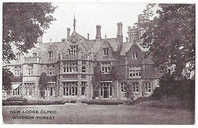 BERKSHIRE New Lodge Clinic, Windsor Forest, Old Postcard, Unused
