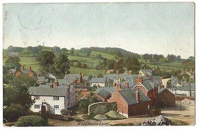 WOODHOUSE EAVES General View, Postcard by Hartmann 1905, Loughborough P/M