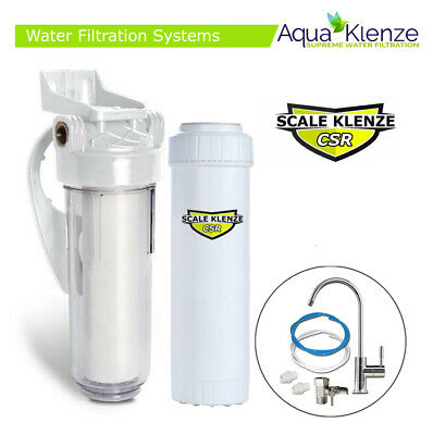 Undersink Water Filter System Kit Limescale & Chlorine Removal (SL10-CSR)