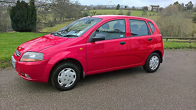 2004 Daewoo Kalos S Red 50,000 Miles 1 Owner Good Cond Fiesta Corsa I10 Micra