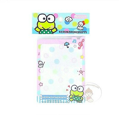 Sanrio Kerokerokeroppi 50 Sheets Notepad/memo Pad/cute Paper/small Note #e