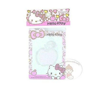 Sanrio Hello Kitty 50 Sheets Notepad/memo Pad/cute Paper/small Note/die-Cut #d