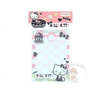 Sanrio Hello Kitty 50 Sheets Notepad/memo Pad/cute Paper/small Note/die-Cut #f