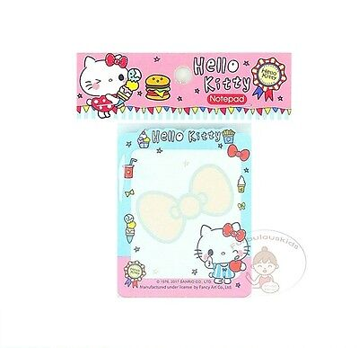 Sanrio Hello Kitty 50 Sheets Notepad/memo Pad/cute Paper/small Note/die-Cut #h