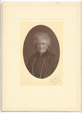 Old Lady Portrait Vintage Photograph c1930s by Ritchie of Paisley