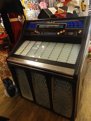 Rockola Max Jukebox-Fully Working With Records Inc