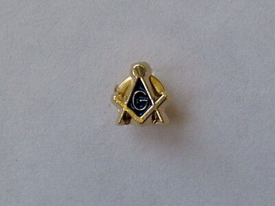Square and Compass small Lapel Pin