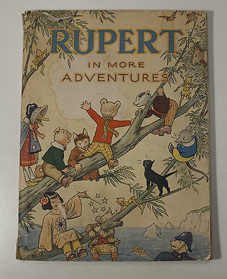 Rupert in More Adventures 1944 Annual, wartime original