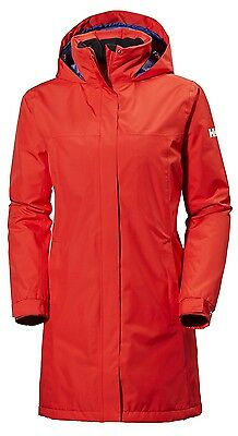 Helly Hansen W Aden Long Insulated Parka Jacket 62649/106 Melt Down RRP £120 NEW