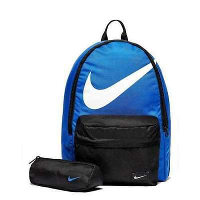 New Nike Backpack 23 litres with pencil case/rucksack/school bag/gym bag/black