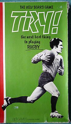 Very Rare Rugby Board Game - Try - England V Wales Edition - 6 Nations
