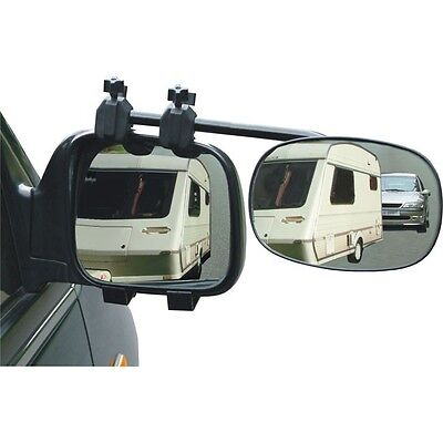 Rock Steady Towing Mirror Twin Pack 1 Flat 1 Convex