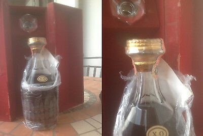CRISTAL DECANTER COGNAC HENNESSY - 75 CL 40% XO RELEASE YEAR 70s VERY RARE