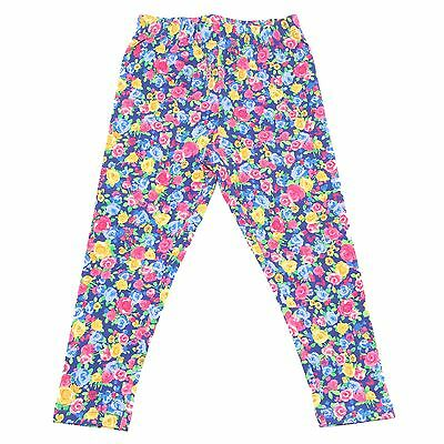 6997R leggings bimba RALPH LAUREN pantaloni cotone multicolor pant kid