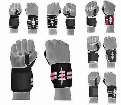 Power Weight Lifting Wrist Wrap Bandage Hand Support Straps Brace Cotton Gloves
