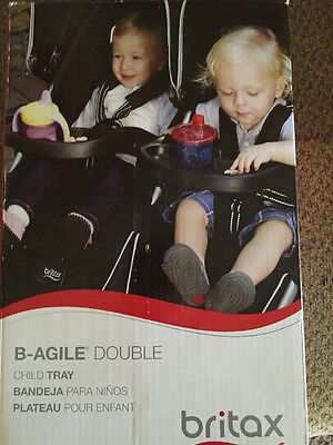 Britax B-Agile Double Child Tray - New