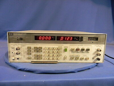 Agilent 8903B Audio Analyzer W/Option 10, 51 30 Day Warranty