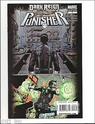 PUNISHER #2 2nd PRINT VARIANT DARK REIGN TIE IN MARVEL DD3