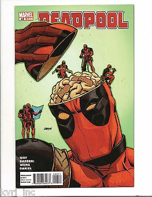 DEADPOOL #42 (2nd SERIES) INSTITUTIONALIZED PART 3 of 3 MARVEL COMICS L