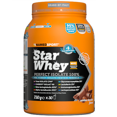 Named Star Whey 750 gr Pure Proteine Carlbelc Isolac 90% 750 GR