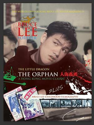 "Preorder Bruce Lee Forever Feb Issue The Little Dragon ""The Orphan"" A Movie C"