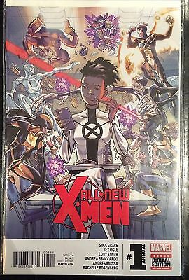 All New X-Men Annual 2016 #1 NM- 1st Print Free UK P&P Marvel Comics