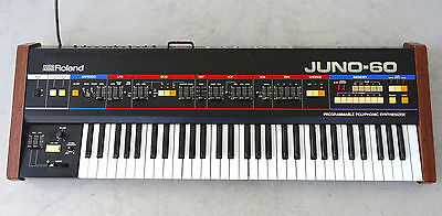 Roland Juno 60 Rare Vintage Analog Synthesizer Synth Keyboard Polysynth Juno60