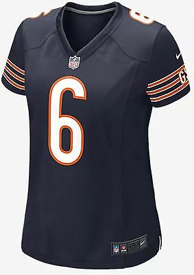 Nike Womens Nfl Chicago Bears Game Jersey (Jay Cutler) Marine 469894-459 New S