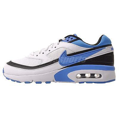 Nike Air Max BW (GS) Kids Youth Running Shoes White Blue 820344-104