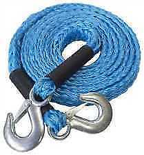 Heavy Duty Tow Ropes Car Van Vehicle Road Recovery Towing Pulling Rope Cable