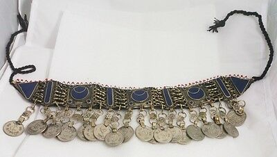 WoW afghan tribal Traditional Jewelry necklace pendant  natural lapis lazuli
