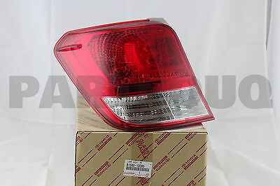 8156012C60 Genuine Toyota LAMP ASSY, REAR COMBINATION, LH 81560-12C60
