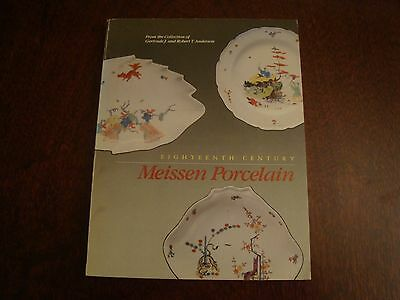 18th Century Meissen Porcelain from Anderson Collection  17/142