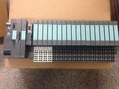 Siemens Et200S 6Es7 Cpu And Module Assembly