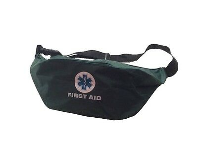 Green Star of Life Bum Bag Paramedic Ambulance St John Medic Doctor First Aid