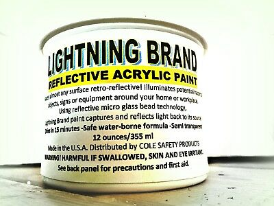Lightning Brand Reflective Paint
