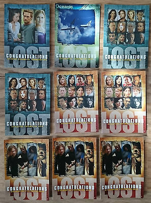 LOST TV Series Premium Redemption Trading Card - Season 1 & 3 - AR1 APR1 PPR1 NM