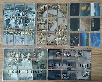 LOST Series Premium Trading Chase Cards - Puzzle foil - Season 1 2 3 Revelations