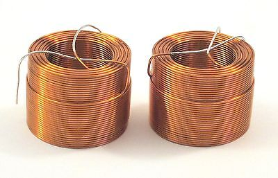 Jantzen air core inductors 2.0mH 20 AWG, one pair
