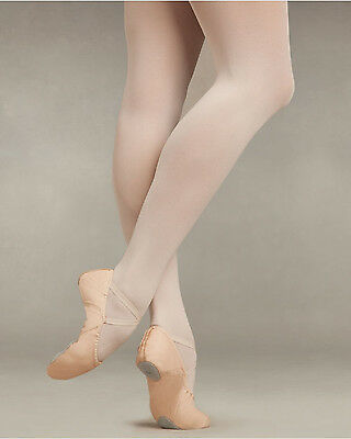 Capezio 14C Ballet Pink Child's Size Large Footed Tights