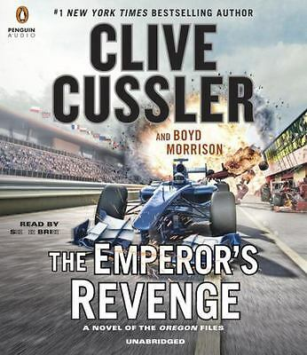 THE EMPEROR'S REVENGE unabridged audio book on CD by CLIVE CUSSLER