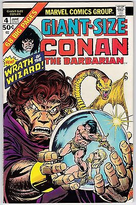 Giant-Size Conan The Barbarian #4 VF+ 8.5 Gil Kane Barry Smith Art!