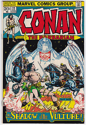 Conan The Barbarian #22 VF+ 8.5 Shadow Of The Vulture Barry Smith Art!