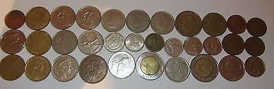 50+ various Europe (Italy. Spain, Netherlands, Germany) and Canada coins