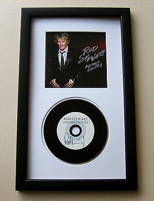 ROD STEWART Another Country FRAMED CD Disc Presentation