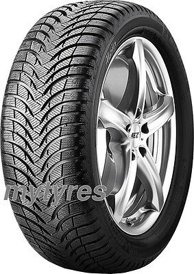 2x WINTER TYRES Michelin Alpin A4 185/60 R14 82T BSW M+S