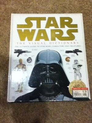 STAR WARS The Visual Dictionary Guide To Characters Creatures Hardcover