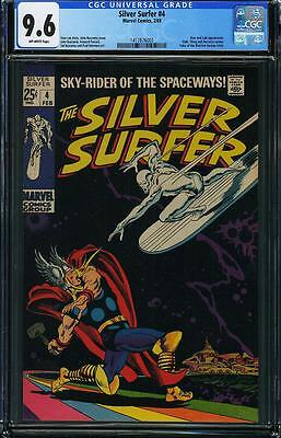 Silver Surfer #4 Classic cover CGC NM+ 9.6