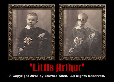 "Haunted Memories ""Little Arthur"" 5 X 7 Changing Portrait"