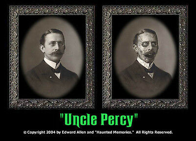 "Haunted Memories ""Uncle Percy"" 5 X 7 Changing Portrait"